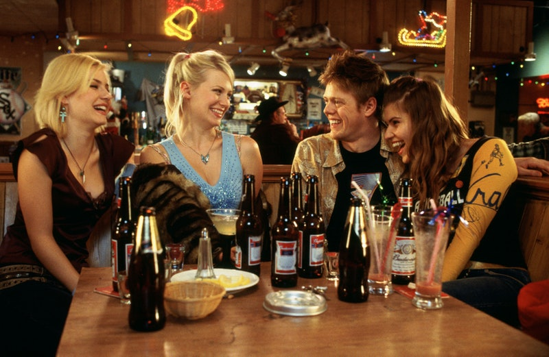 Elisha Cuthbert, January Jones, Kris Marshall, Ivana Milicevic in Love Actually