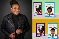 North Carolina mom, Kishanna Heyward, helps kids understand credit through her coloring books.