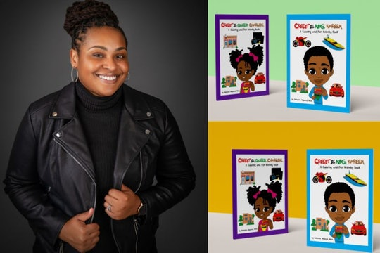 North Carolina mom, Kishanna Heyward, helps kids understand credit through her coloring books.