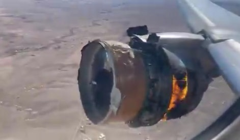 Boeing 777 engine on fire during flight to Honolulu