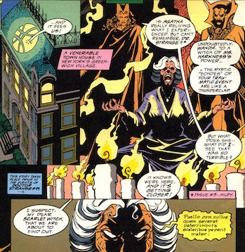 WandsVision theory darkhold chthon malachy prophecy
