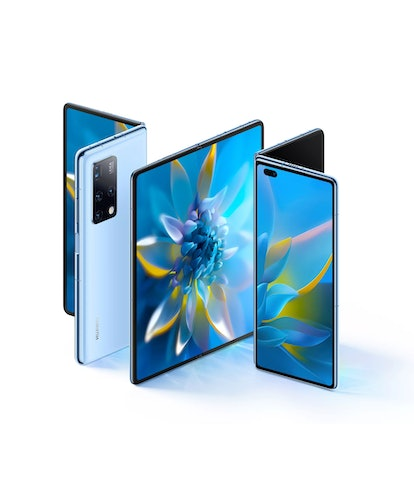 Huawei's just announced the Mate X2 and *rubs eyes* yes it looks like Samsung's Z Fold 2.