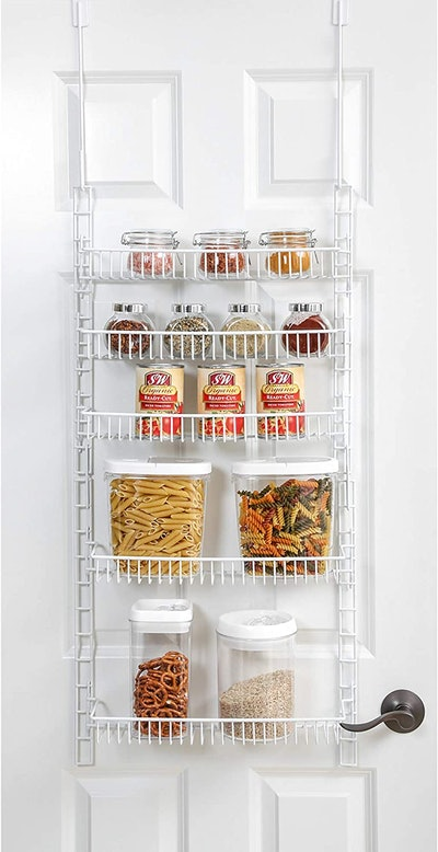 Smart Design Over the Door Pantry Rack