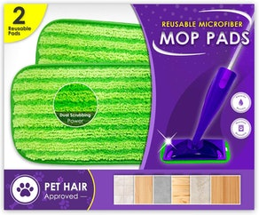 Turbo Mops Reusable Mop Pads (2-Pack)