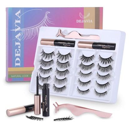 DEJAVIA Magnetic Eyelash Kit (23-Pieces)