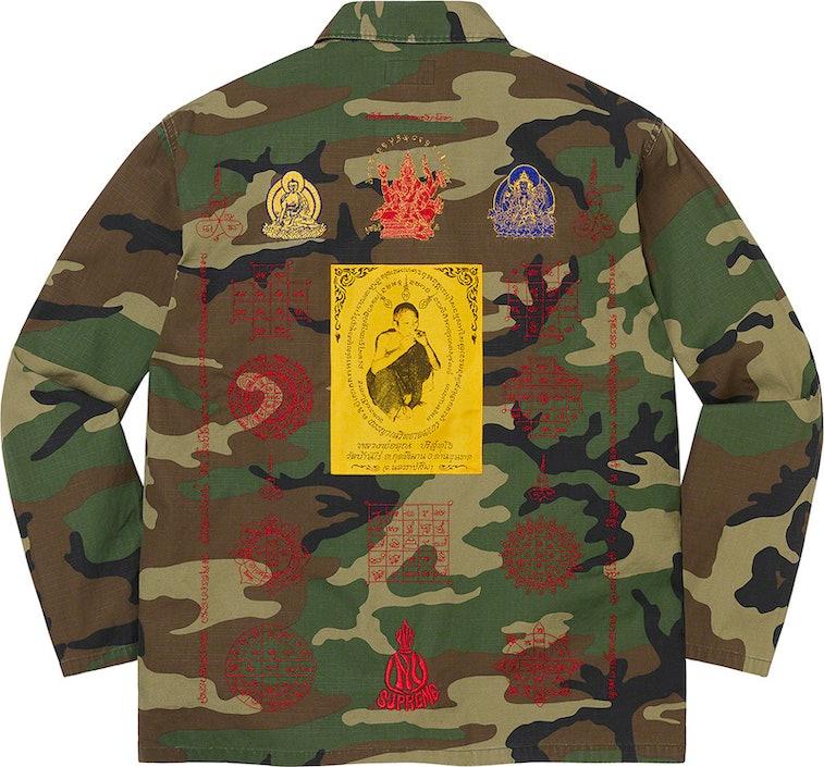 Supreme Blessings Ripstop Shirt Thai Monk