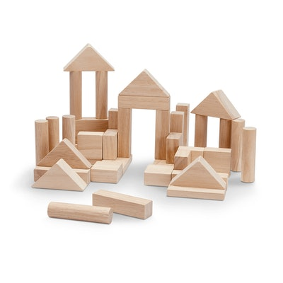 Wooden Blocks 40 Piece - Natural