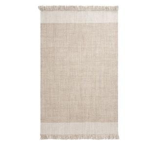 Kian Eco-Friendly Indoor/Outdoor Rug, 2' x 3', Khaki