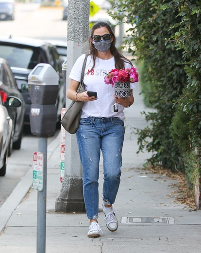 Jennifer Garner is seen on September 14, 2020 in Los Angeles, California.