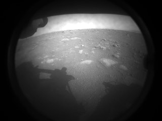 Perseverance rover first image from Mars