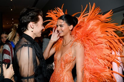 Harry Styles and Kendall Jenner at the 2019 Met Gala