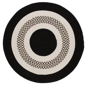 Bloxom Braided Black/Beige Rug