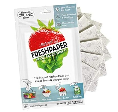 THE FRESHGLOW Co Reuseable Food Saver Sheets (8-Pack)