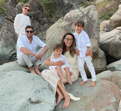 chelsea hirschhorn and family
