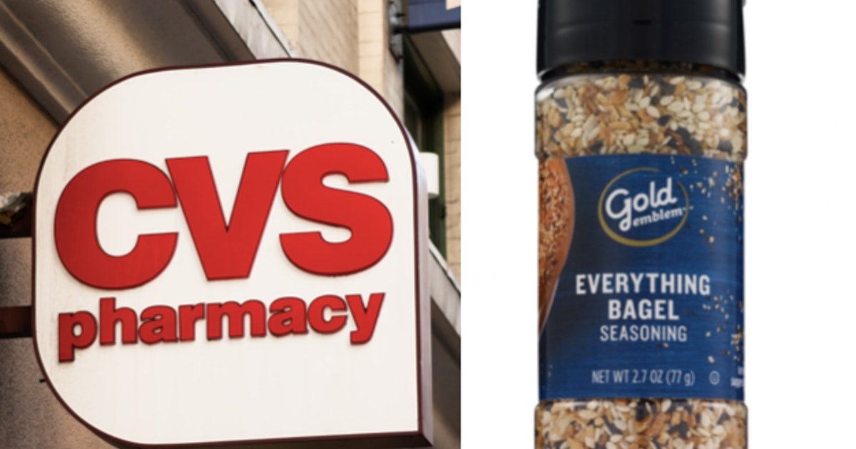 ICYMI, CVS Sells Everything Bagel Seasoning, & People Are Obsessed With It