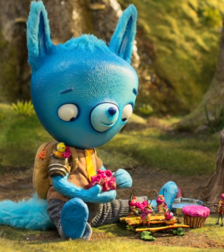 'Tumble Leaf' is a children's show about a blue fox named Fig and his friends.