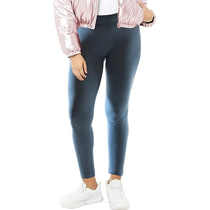 Dinamit Plus Size Fleece Lined Leggings