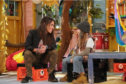 Soleil Moon Frye as Punky Brewster, Quinn Copeland as Izzy via NBC Media Village