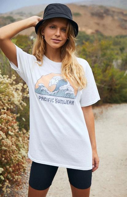 PS / LA Pacific Sunwear Wave T-Shirt