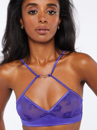Strap Up Lace Bralette