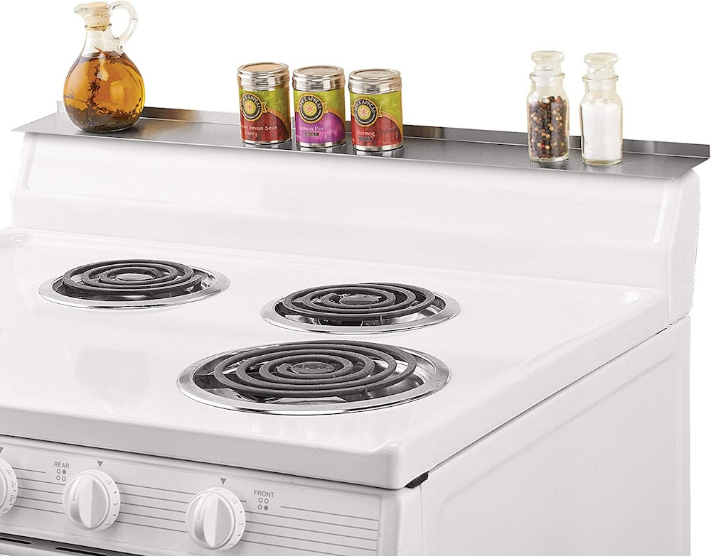 Collections Etc Magnetic Stove Shelf
