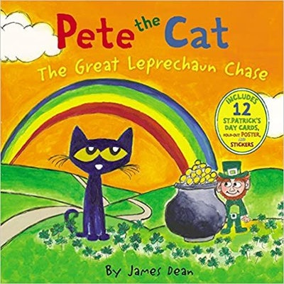 'Pete the Cat: The Great Leprechaun Chase' by James Dean