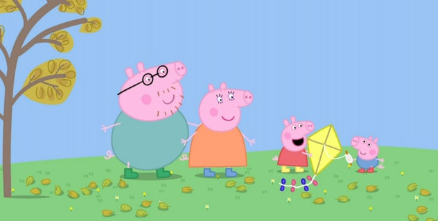 American children love 'Peppa Pig' so much that they often speak with a British accent after watching.