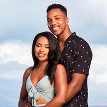 Are Erica & Kendal Still Together After 'Temptation Island'? Photo via USA Network