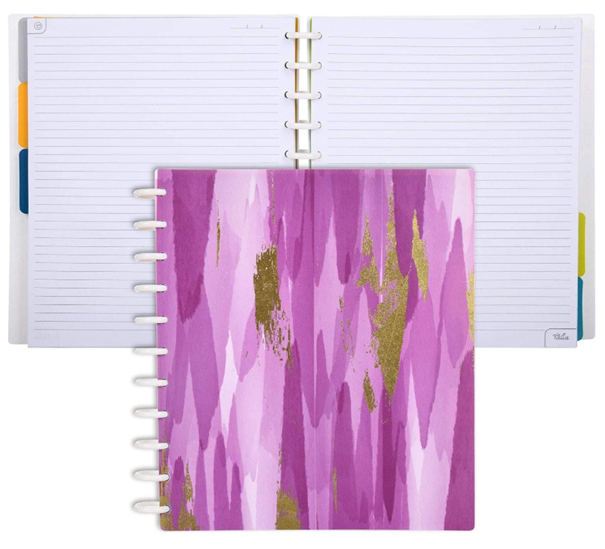 Talia Discbound Notebook