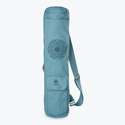 Embroidered Cargo Mat Bag