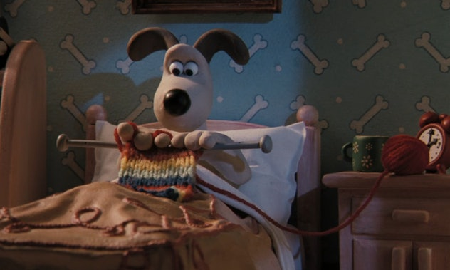 'Wallace & Gromit' is a stop-motion animation show about an inventor and his dog.