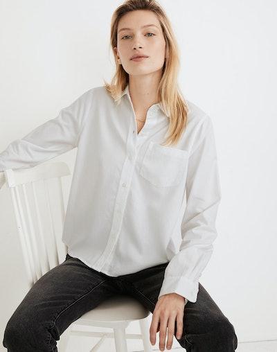 Shrunken Button-Up Shirt