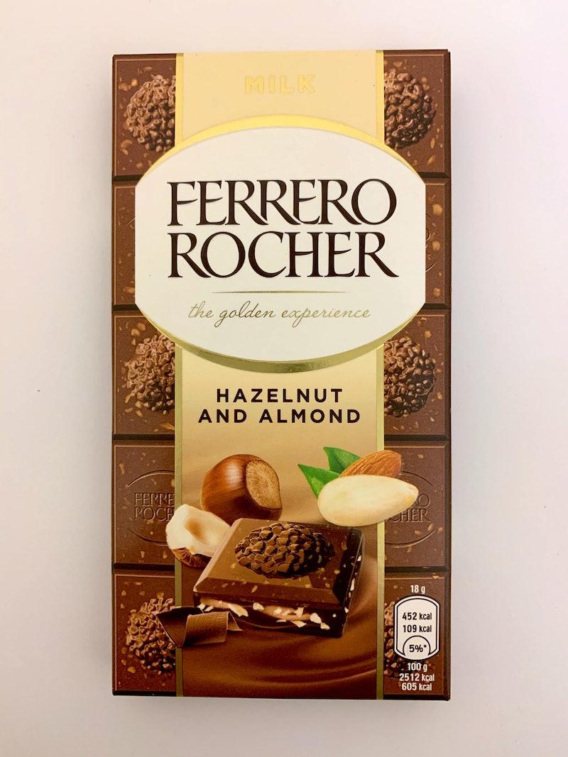 Ferrero Rocher chocolate bar