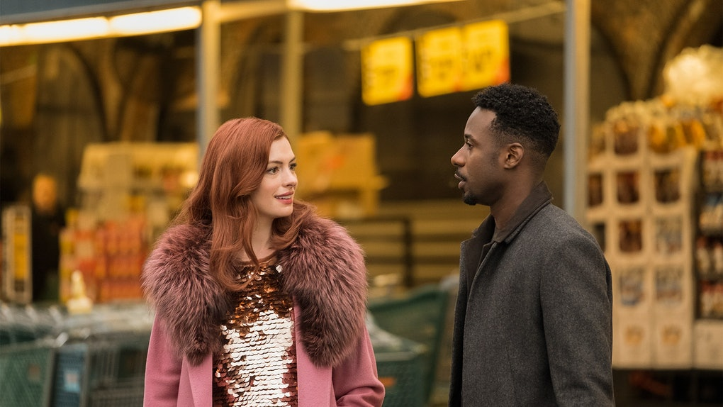 Anne Hathaway and Gary Carr in Modern Love.