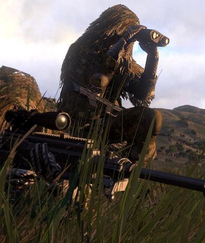Arma III sniper rifle