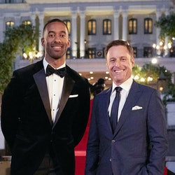 Matt James reacted to the recent controversies surrounding 'Bachelor' host Chris Harrison and contes...