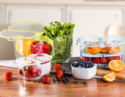 LUXEAR Fresh Produce Storage Containers