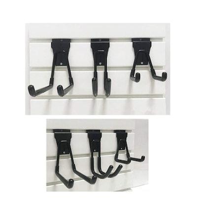 Cheaboom Slat Wall Hooks (6-Pack)