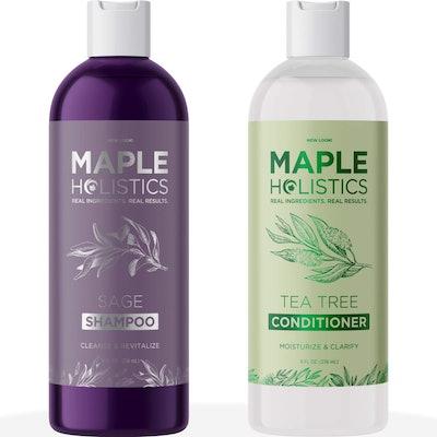 Maple Holistics Sulfate-Free Shampoo and Conditioner