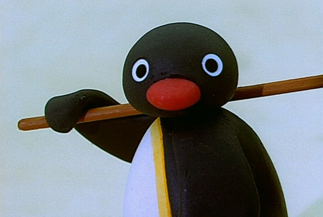 'Pingu' is a Swiss stop-motion animation show from the 1980s.