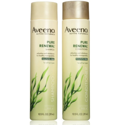 Aveeno Pure Renewal Shampoo and Conditioner Set