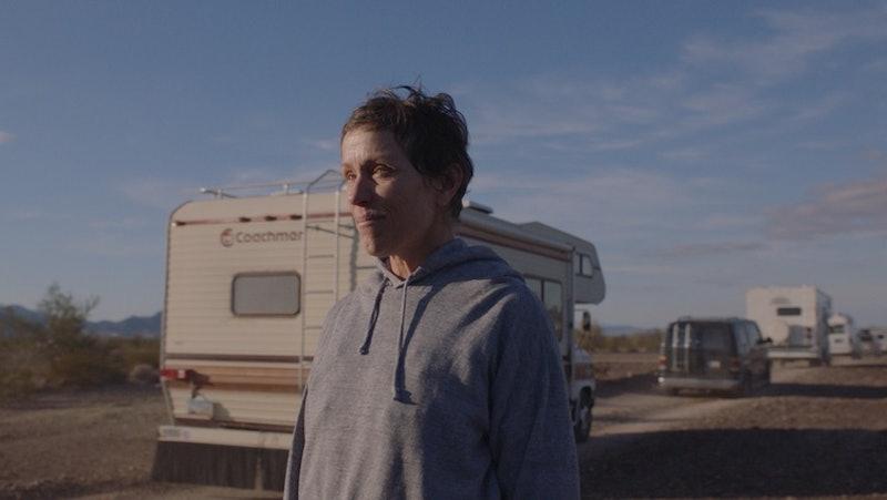 Frances McDormand in 'Nomadland.'