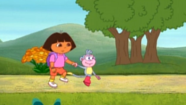 'Dora the Explorer' is an interactive educational show for preschoolers.