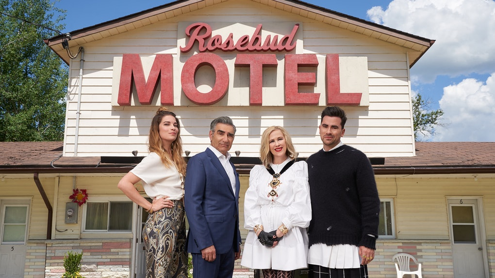 The cast of Schitt's Creek