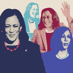 Vice President Kamala Harris' trademark pearls have a connection to her Indian ethnicity.