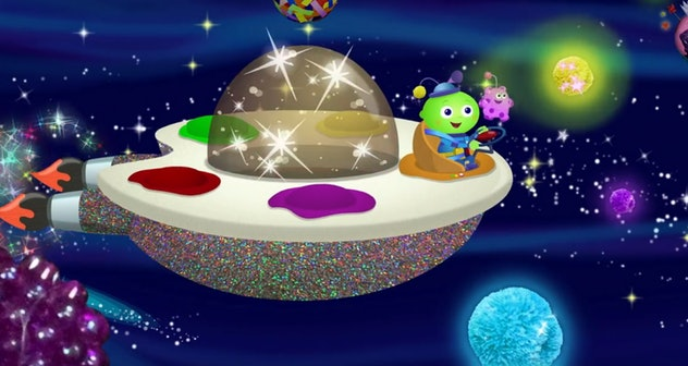 'Creative Galaxy' teaches art concepts and techniques to young children.
