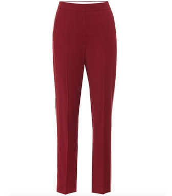 Colwyn High-Rise Wool Crêpe Pants