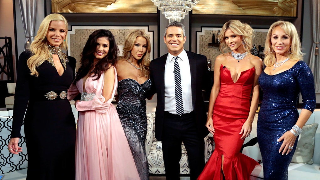 The cast of Real Housewives of Miami.