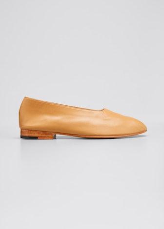 Leather Glove Flats