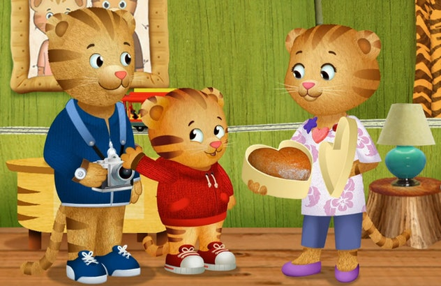 'Daniel Tiger's Neighborhood' is based on characters that first appeared in 'Mr. Roger's Neighborhood.'